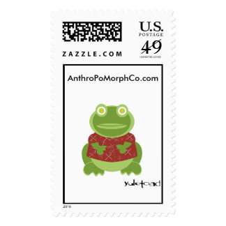 yuletoad loves snail mail stamps
