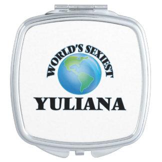 Yuliana más atractivo del mundo espejo compacto