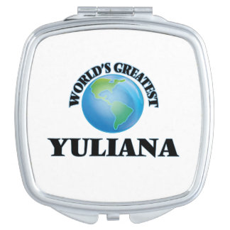 Yuliana más grande del mundo espejos de viaje