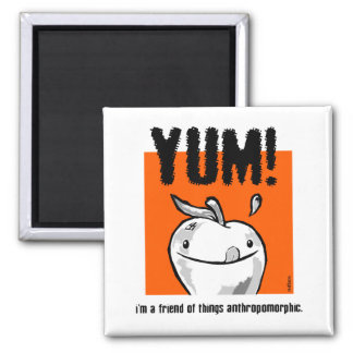 Yum! 2 Inch Square Magnet