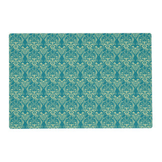 YUM Breakfast Damask Pattern Art Placemat