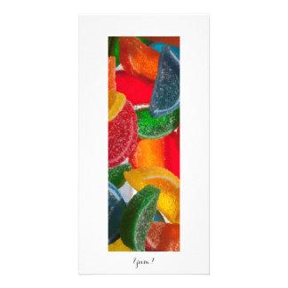 Yum! Candy Photo Card