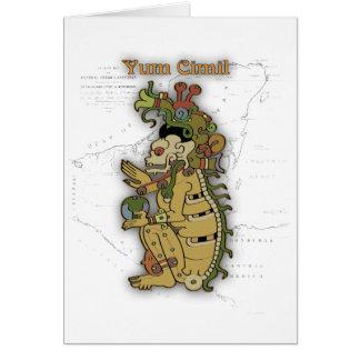 Yum Cimil - The Mayan death God Card