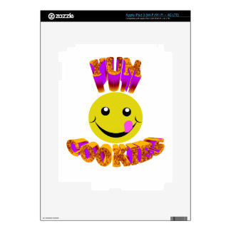 yum cookies decal for iPad 3