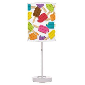 ¡Yum! Lámpara de mesa del Popsicle - blanco