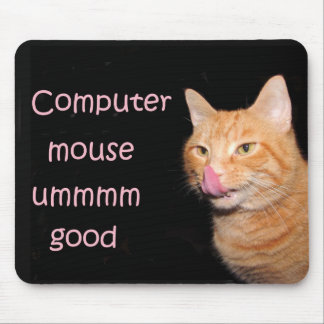Yum mouse! mouse pad