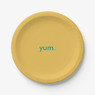 Yum Paper Party Plates
