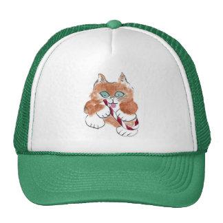 Yum, Peppermint Purrs Kitten Trucker Hat