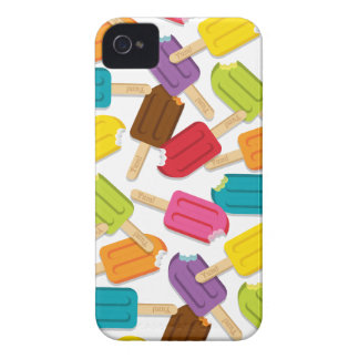 Yum! Popsicle Blackberry Case — White