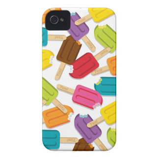 Yum! Popsicle iPhone Case (White) iPhone 4 Case-Mate Cases