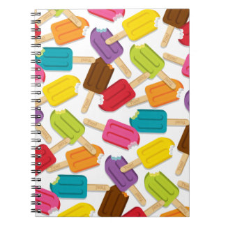 Yum! Popsicle Journal (White) Note Book