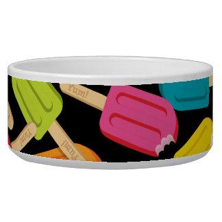 Yum! Popsicle Pet Bowl — Black