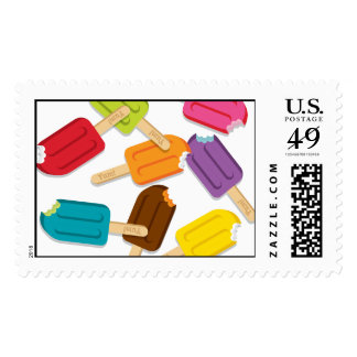 Yum! Popsicle Stamps