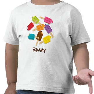 Yum! Popsicle Toddler Tee (CUSTOMIZABLE!)