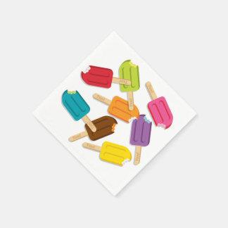 ¡Yum! Servilletas de papel del Popsicle (paquete d