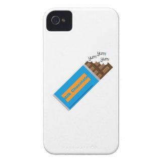 Yum Yum chocolate iPhone 4 Case-Mate Carcasas