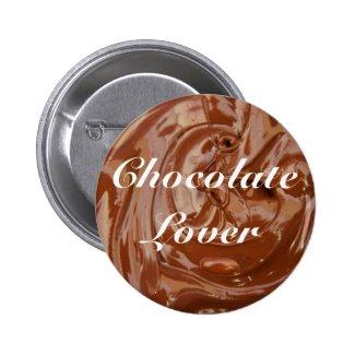 Yum Yum Chocolate Lovers 2 Inch Round Button