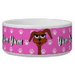 Yum Yum perro de perrito Tazón Para Perro