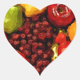Yum!Yum!,So Good_ Heart Stickers