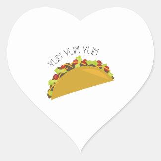 Yum Yum Heart Sticker