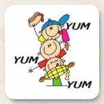 Yum Yum Summer Drink Coaster