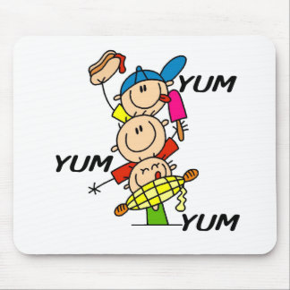 Yum Yum Summer Mouse Pad