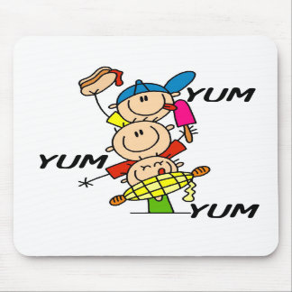 Yum Yum Summer Mouse Pads