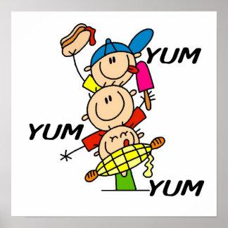 Yum Yum Summer Poster