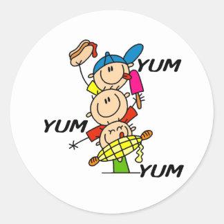 Yum Yum Summer Sticker