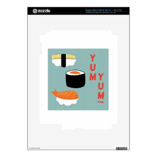 Yum Yum Sushi iPad 3 Decals