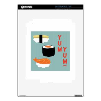 Yum Yum Sushi iPad 2 Skin