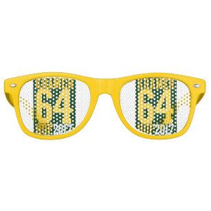 3a8792baa3 Yum Yum Yellow Retro Sunglasses