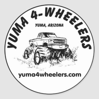 "Yuma 4-Wheelers 3"" Stickers"