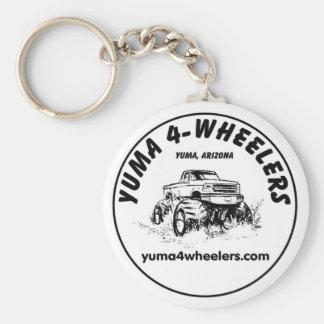 Yuma 4-Wheelers Keychain