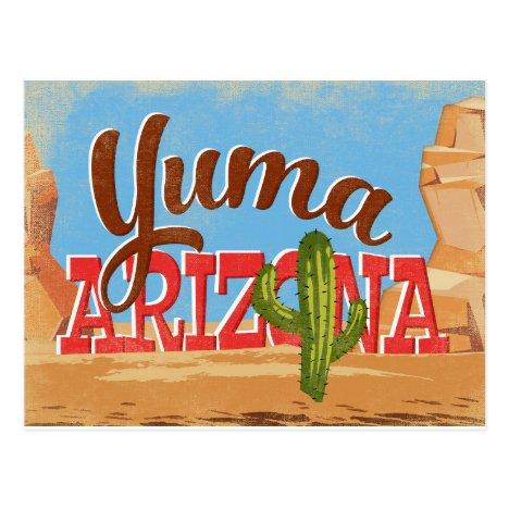 Yuma Arizona Vintage Travel Postcard