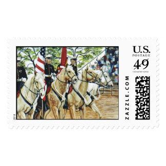 """Yuma Color Guard"" Stamp"