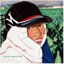 Yuma Farm Worker Series, Yuma Eve Statuette