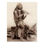 Yuma Musician, Arizona Postcard