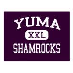 Yuma - Shamrocks - Catholic - Yuma Arizona Postcard