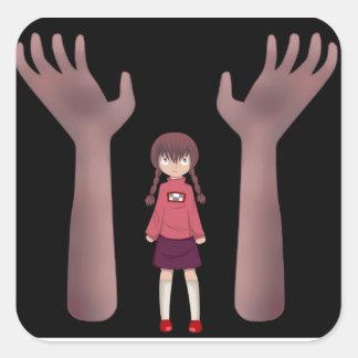 Yume Nikki Grabby hands sticker