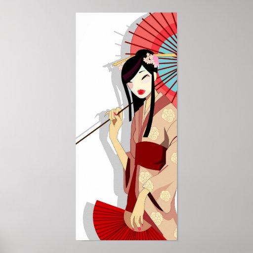 Yumeka Geisha Poster