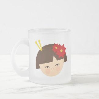 Yumi Frosted Glass Coffee Mug