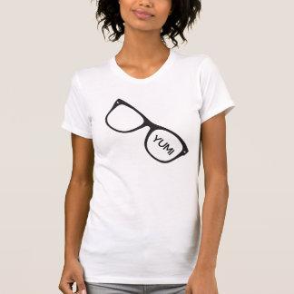 YUMI Geek Glasses Logo Tee for Women
