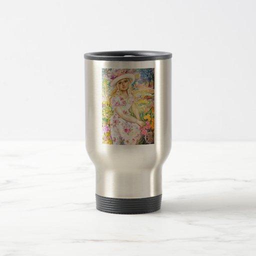 yumi sugai  angels 15 oz stainless steel travel mug