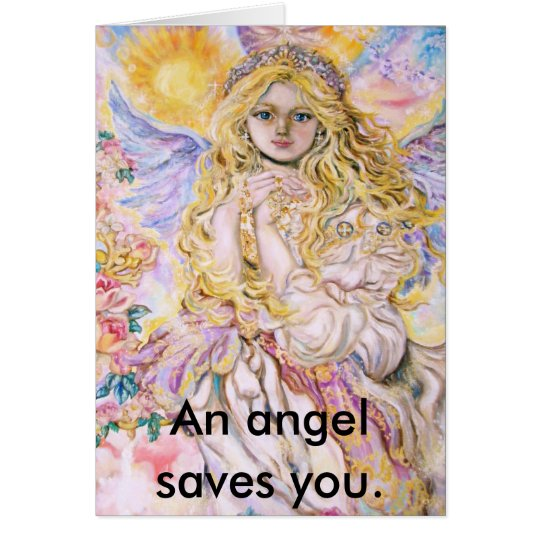 yumi sugai  angels, An angel saves you. Card