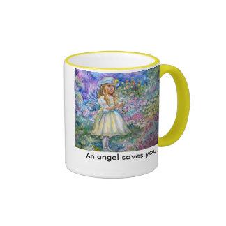 yumi sugai  angels, An angel saves you. Mug