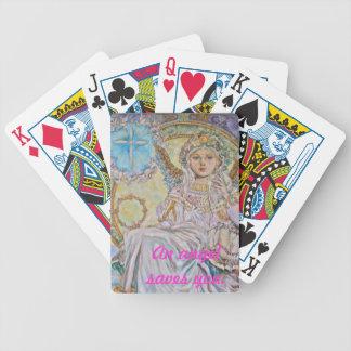Yumi Sugai. El ángel del navidad subió Baraja Cartas De Poker