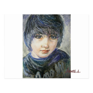Yumi Sugai. James.s. Postcard