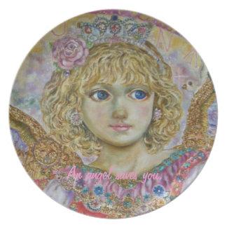 Yumi Sugai. The angel of the key to heaven. Plate