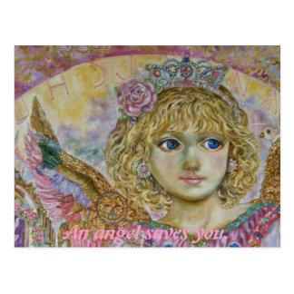 Yumi Sugai. The angel of the key to heaven. Postcard